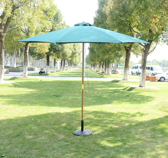 Image of EUR35,99 Sombrilla Parasol para Terraza Playa Jardín Piscina Patio Camping - Color Verde Black Friday Black Friday 01-0243 8435428700331