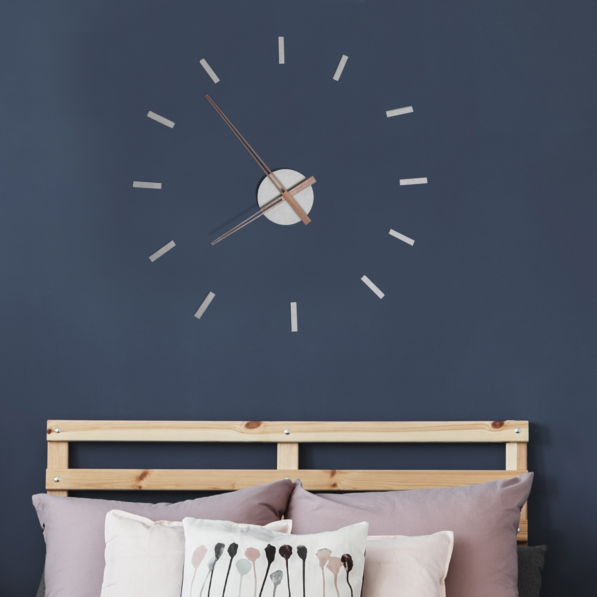 Image of EUR18,99 HomCom DIY Reloj de Pared 3D con Números Adhesivos Black Friday 830-228 8435428737825