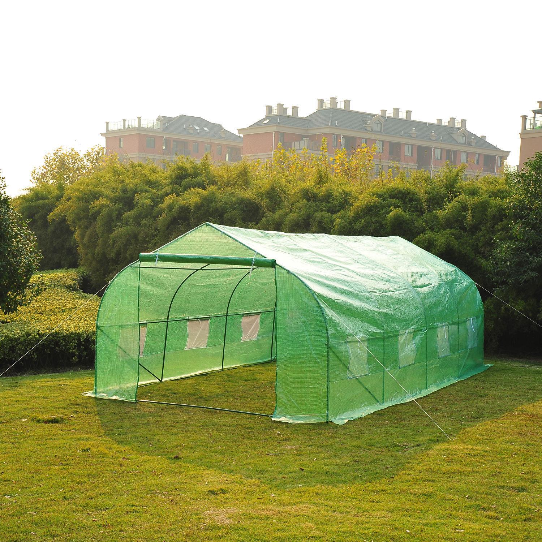 Image of EUR119,99 Invernadero de Jardín o Terraza para Cultivo de Plantas y Semillas - Color Verde - 600x300x200cm Black Friday 845-011 8435428714314