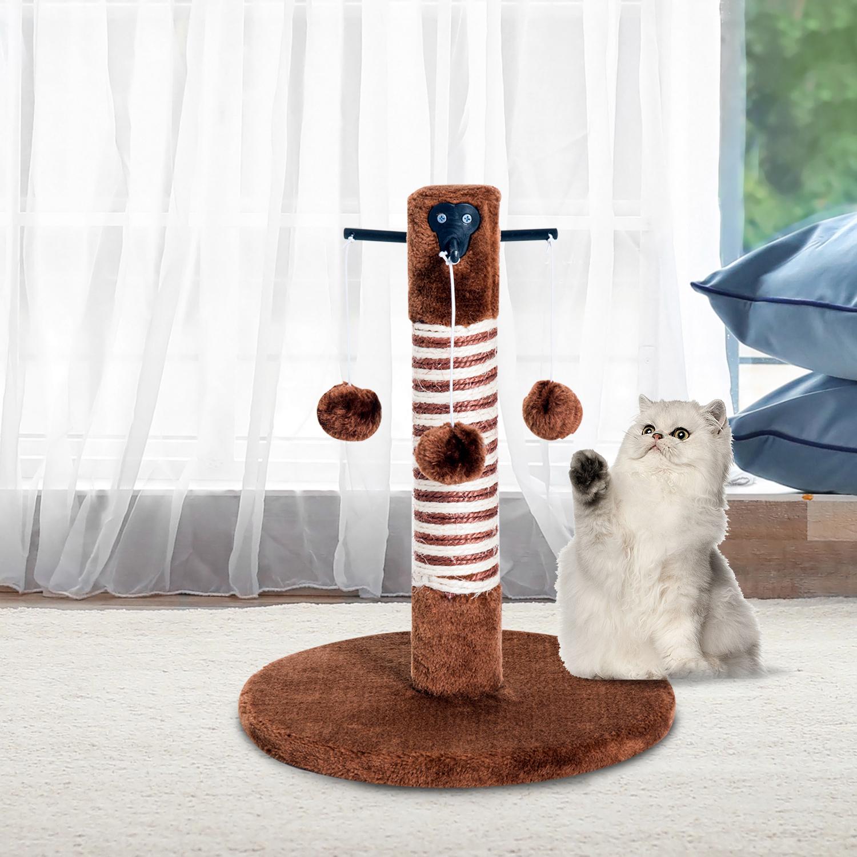 Image of EUR13,99 PawHut Poste Rascador para Gato para Ara?ar 3 Bolas de Juego Black Friday D30-155 8435428735081