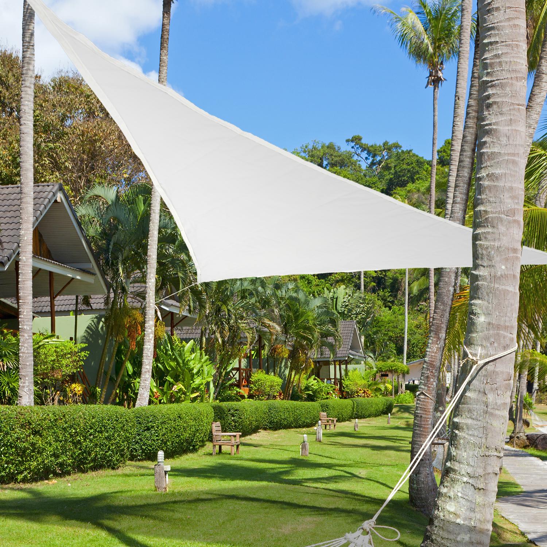 Image of EUR17,99 Toldo Vela 3x3x3m Triangulo Color Crema Sombrilla Parasol Terraza Jardin Camping Black Friday 01-0635 8435428700706