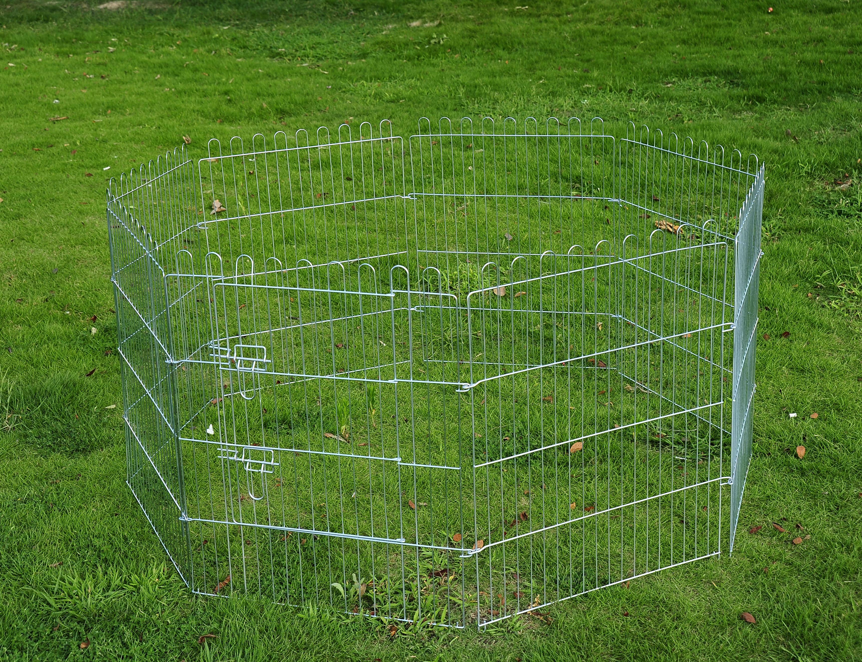 Image of EUR35,99 PawHut Valla para Perros Parque para Cachorros Animales Rejilla Black Friday D1-0046 8435428711887
